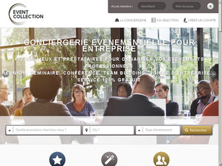 Détails : La conciergerie event collection tend vers la satisfaction
